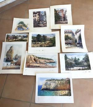 Watercolors from Portugal