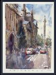 Edinburgh Street - Watercolour