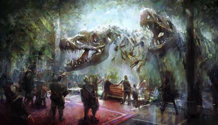 Dino Bones by MarcoBucci
