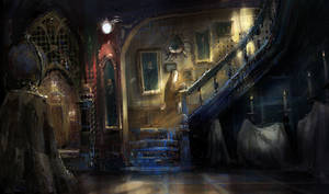 Halloween Painting 1 by MarcoBucci
