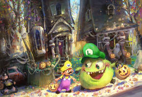 Happy Halloween by MarcoBucci