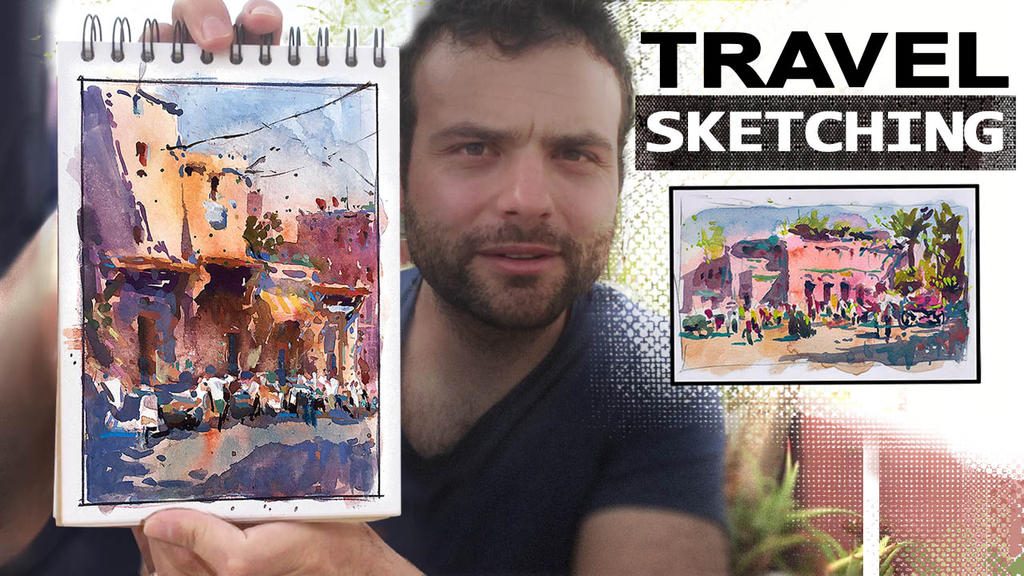 Travel Sketching - New Video by MarcoBucci