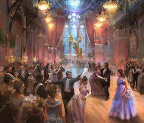 Disney's 'The Nutcracker' Illustration by MarcoBucci
