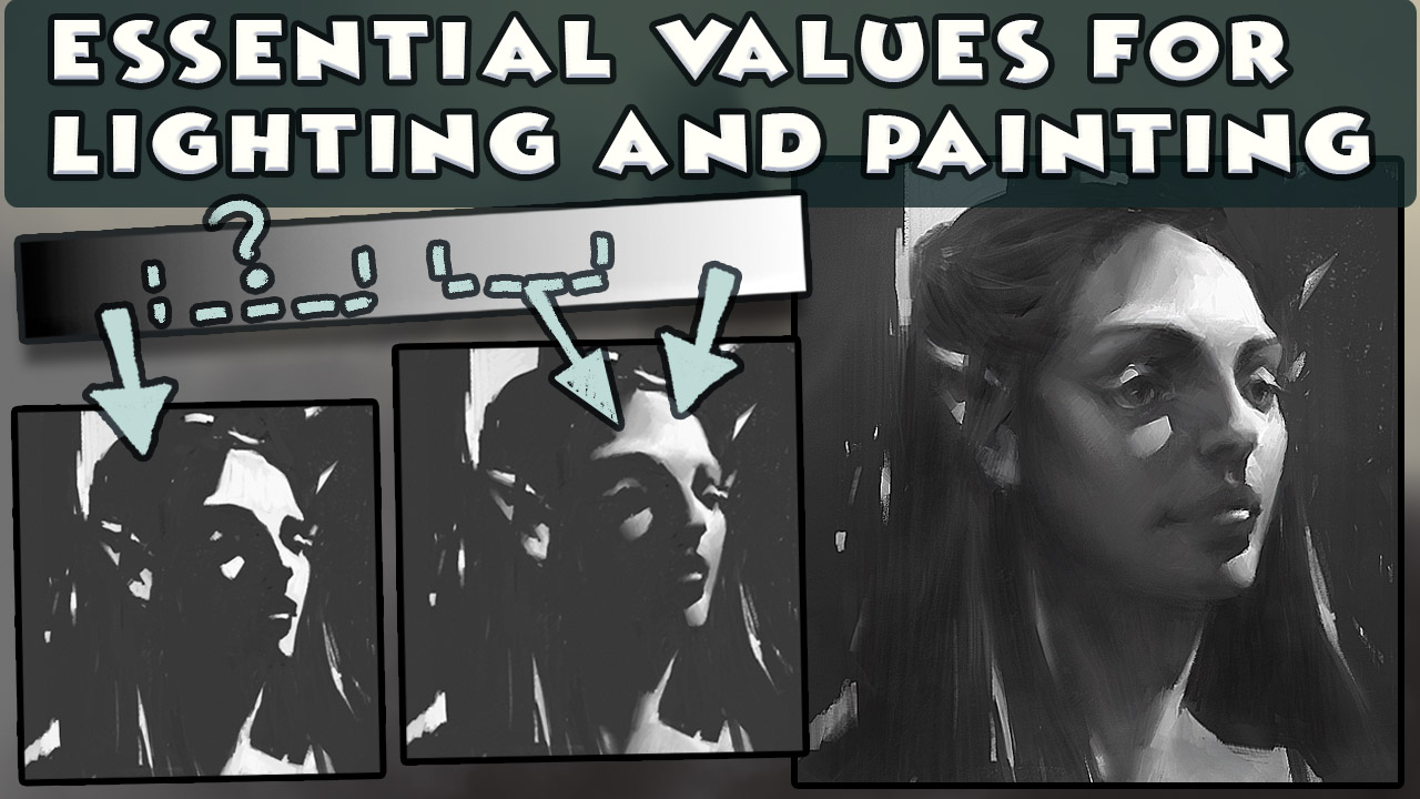 Tutorial: Values every painter should know