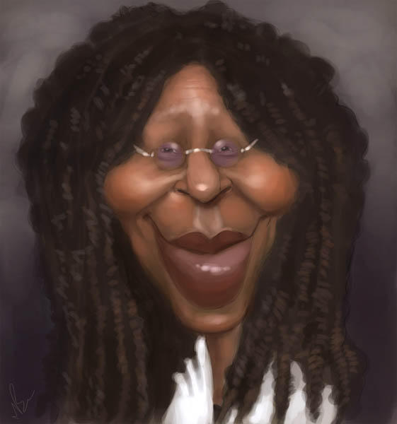 Whoopi Goldberg By Marcobucci On Deviantart