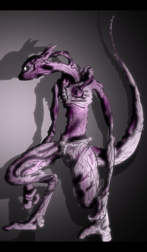 Evil MewTwo by Someone072 on DeviantArt