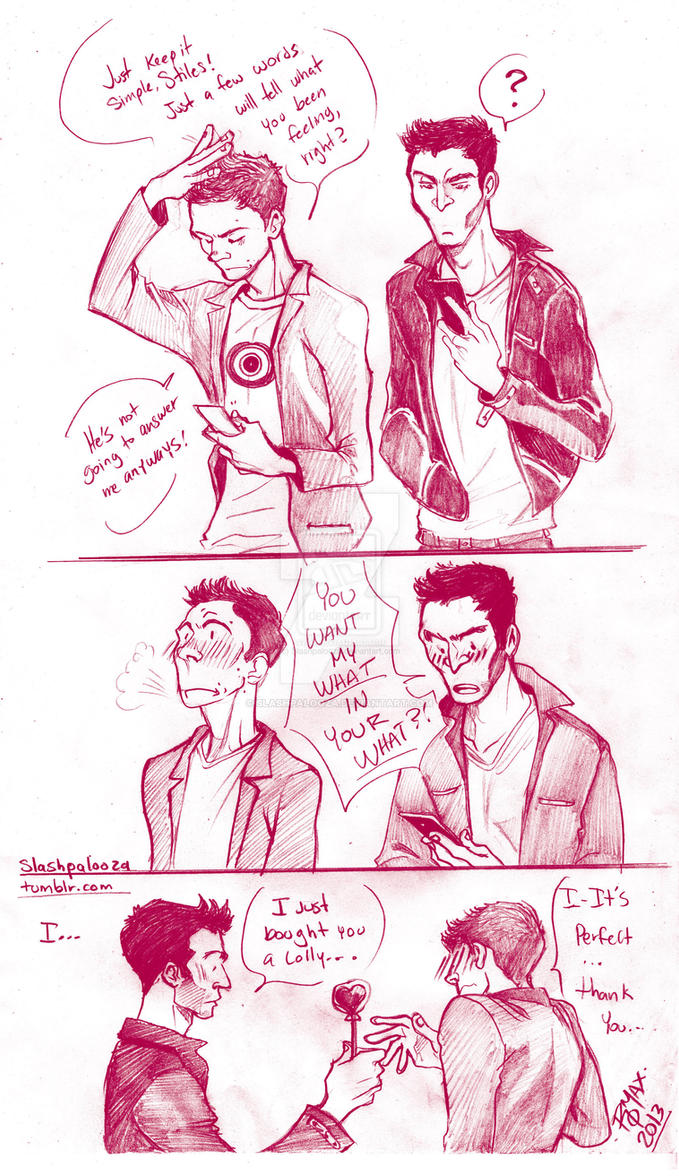 STEREK Valentine's Day by Slashpalooza