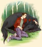 STEREK wolfDerek commission