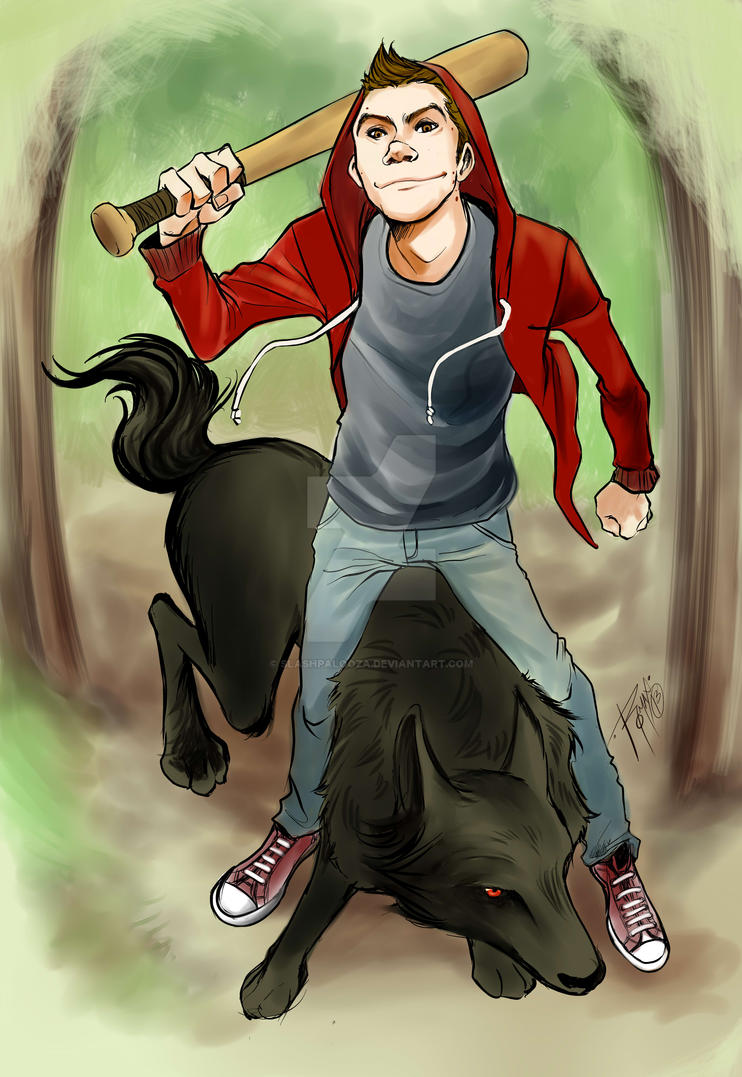 STEREK Stiles Bat WOlfDerek commission by Slashpalooza