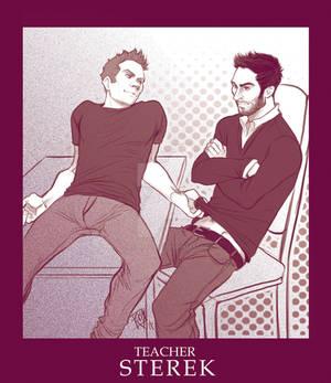STEREK TEACHER comic commission by Romax pg00