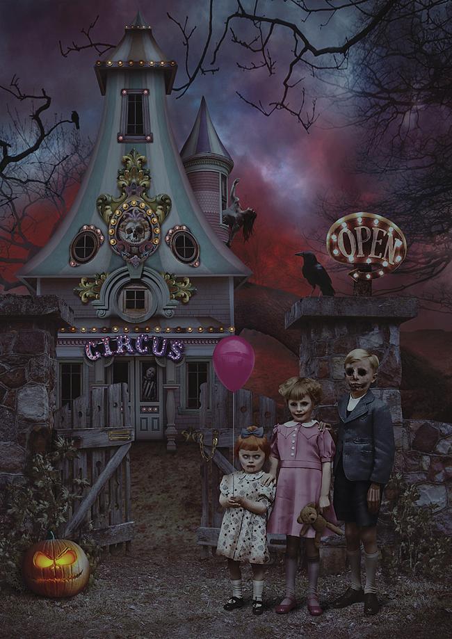 Circus Asmodeus by royal-nightmare