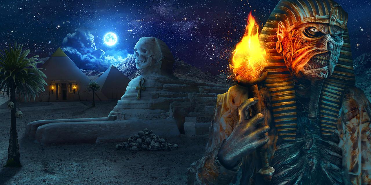 Amen-Ra's Dynasty 'Stone and Stars' Wraparound