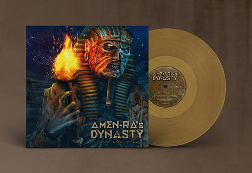Amen-Ra's 'Stone and stars' vinyl