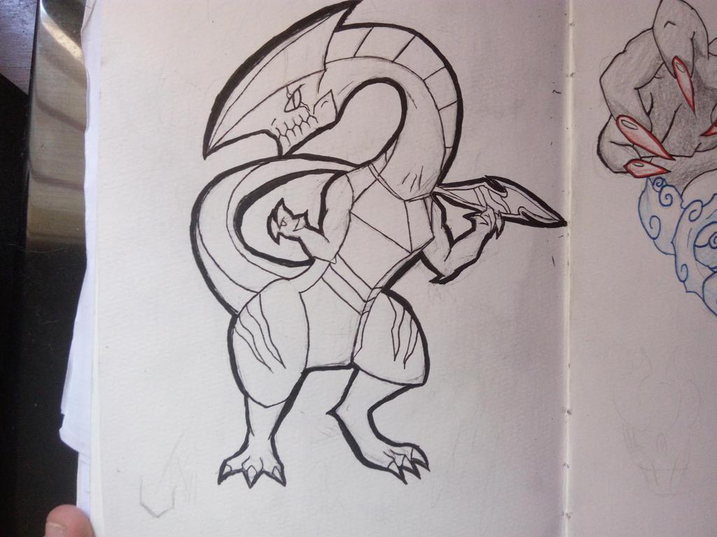Raptor Dragon by MexxyDragon