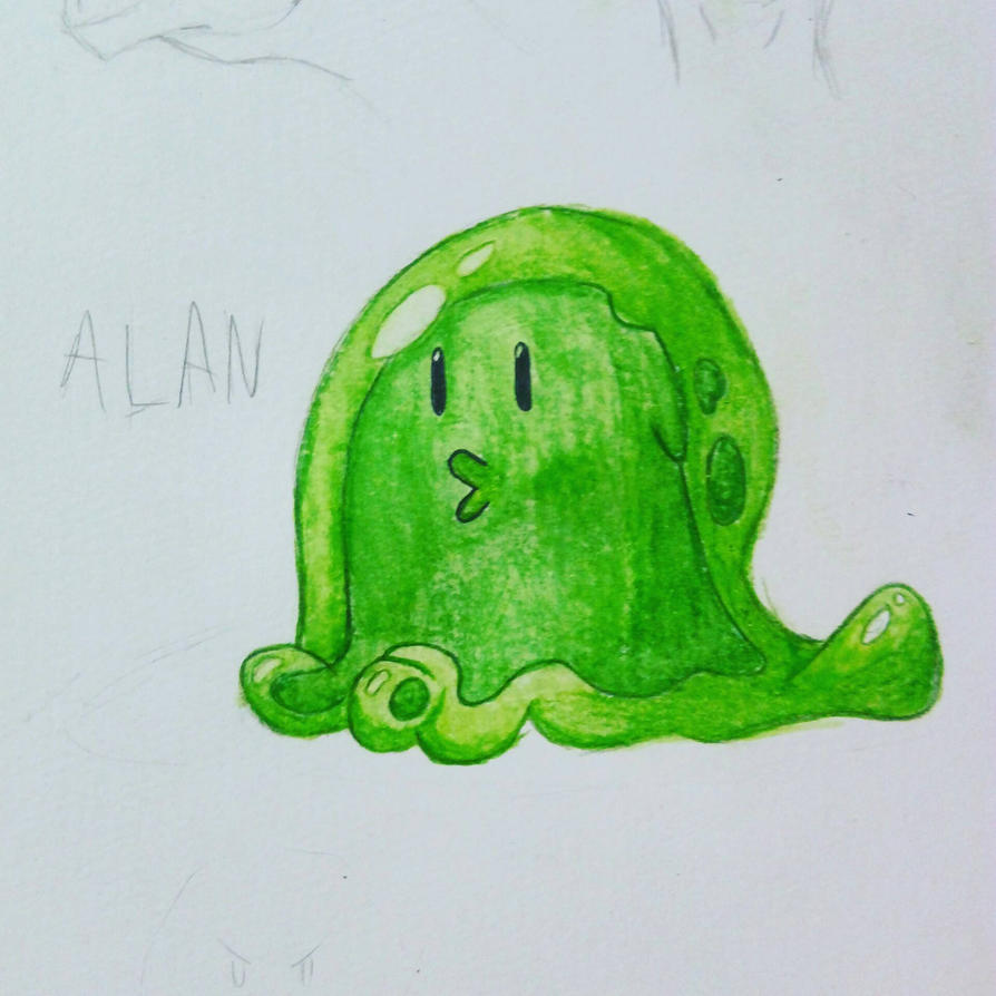 Alan the Slime by MexxyDragon
