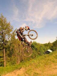 Gettin' air! by Archiemonty
