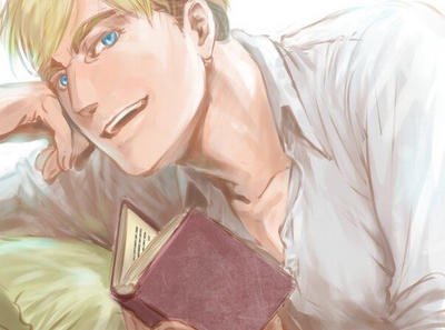 Commander handsome Erwin Smith  by 50shadesofsparkle327