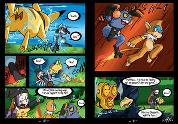 Riolu is Born - Page 7-8 by TamarinFrog