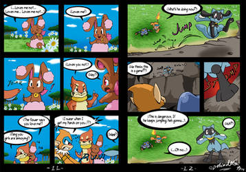 Riolu is Born - Page 11-12 by TamarinFrog