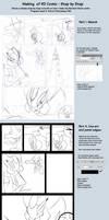 Making of RD Comic