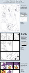 Making of RD Comic by TamarinFrog