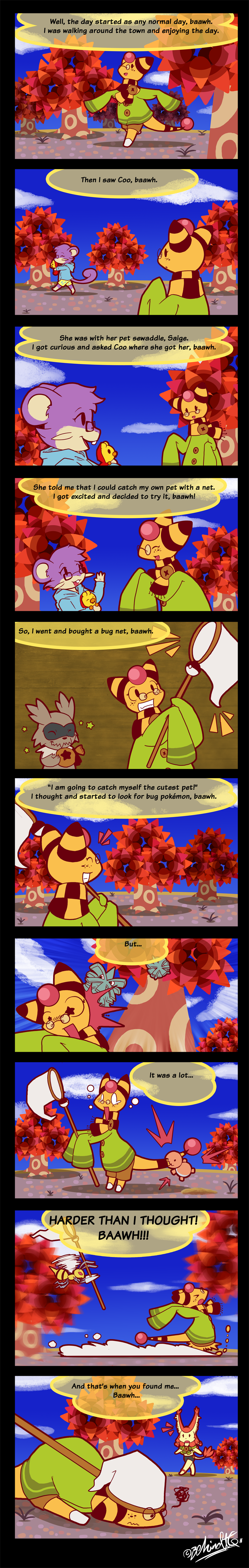 Bug Off - Part 1 by TamarinFrog