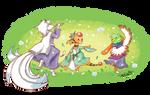 PKMNC - WR: White Petal Dance
