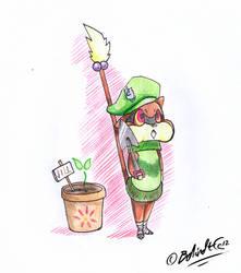 PKMNA - Leaf Guard by TamarinFrog