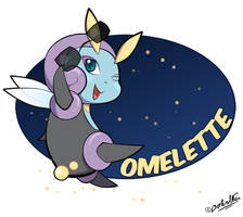Omelette the Illumise by TamarinFrog