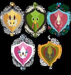 PKMNA - Armonia House Emblems