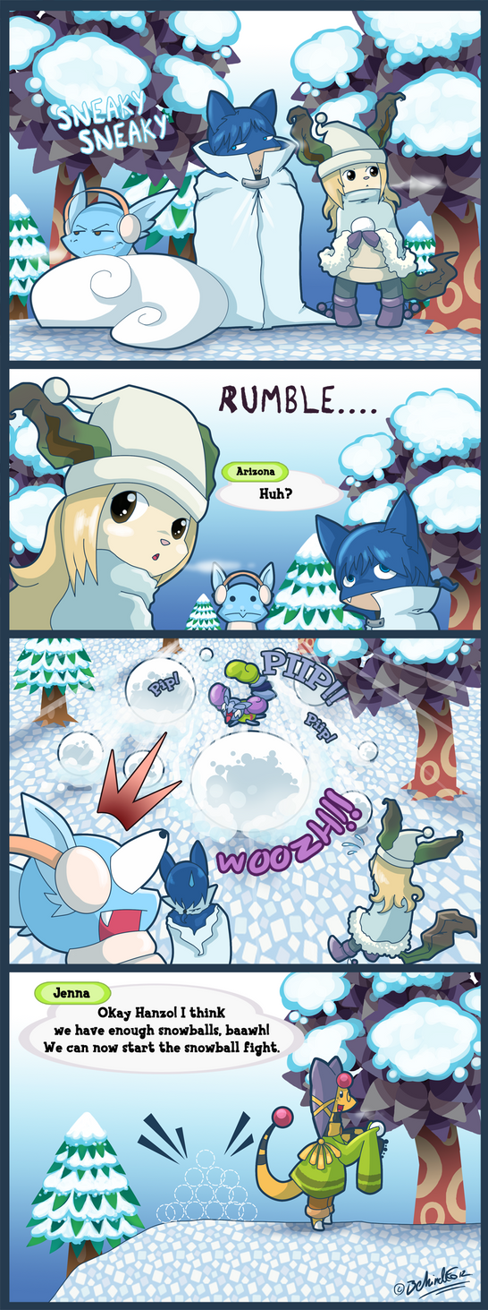 PKMNC - Avalanche Warning by TamarinFrog