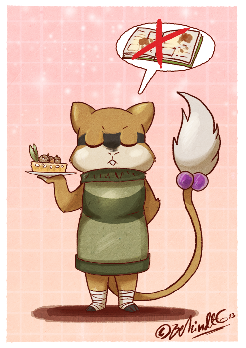 PKMNA - Cooking by the Book by TamarinFrog