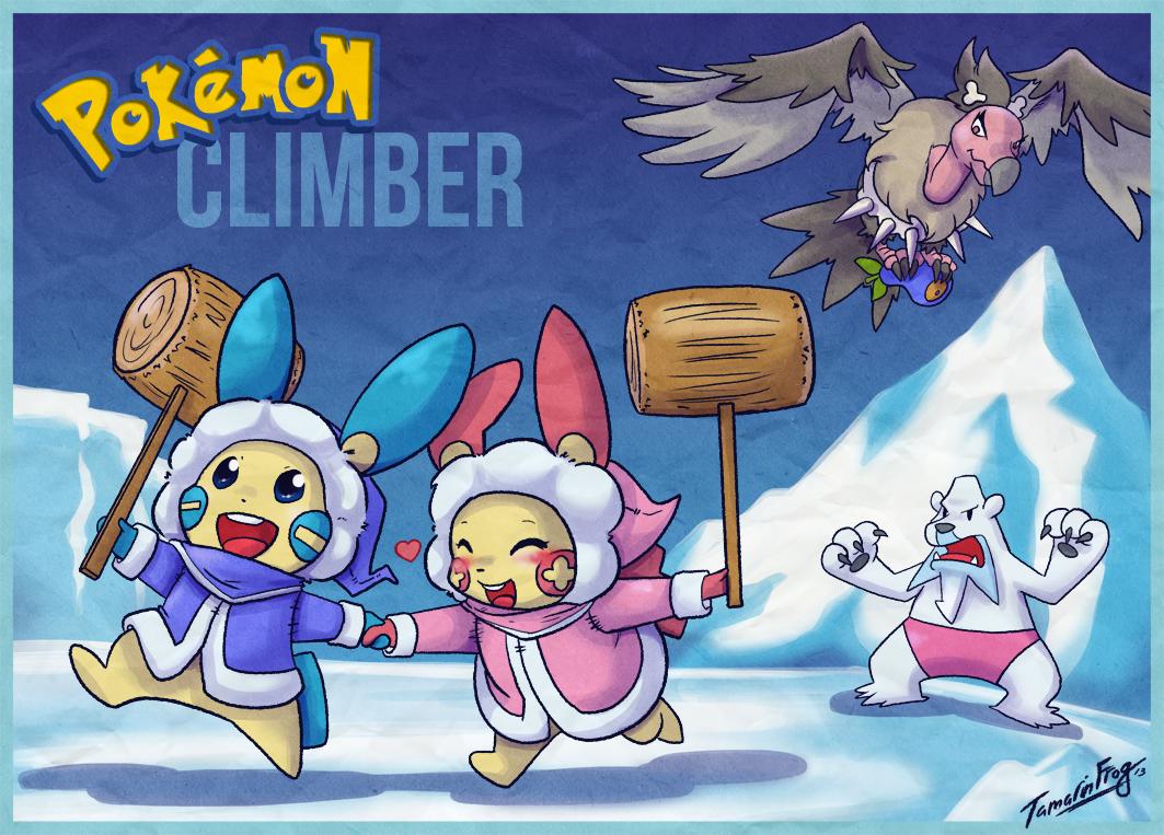 Pokemon Climber by TamarinFrog