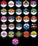 All Poke Balls - Free Icons