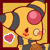 PKMNC Icon - Jenna : Love by TamarinFrog