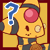 PKMNC Icon - Jenna : Confusion/Surprise by TamarinFrog