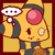 PKMNC Icon - Jenna : Thought by TamarinFrog