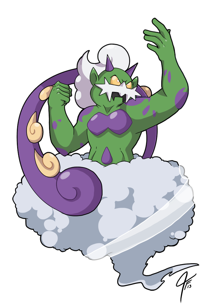 Tornadus the Wind Waker by TamarinFrog