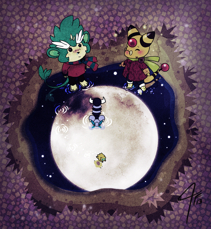 PKMNC - Trip to the Moon by TamarinFrog