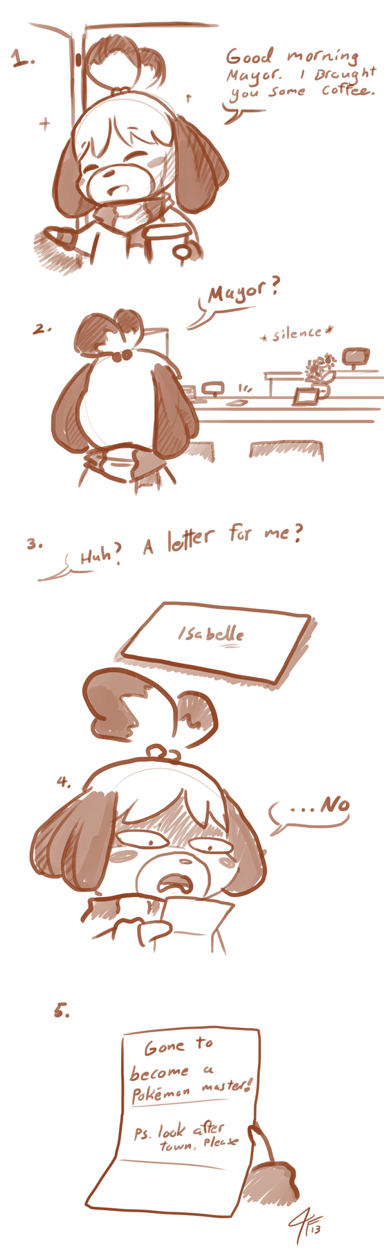 Random: Isabelle Still Seems Upset At Negligent Animal