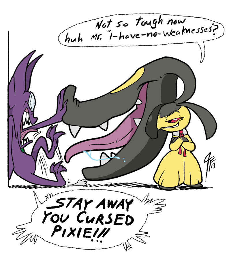 RD - One Weakness by TamarinFrog