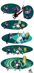 PKMNation  Ready Willing and Sableye by TamarinFrog