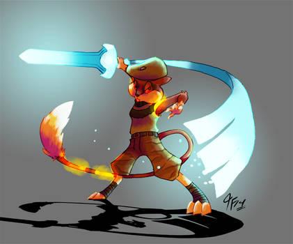 PKMNA - Wielder of the Sacred Sword