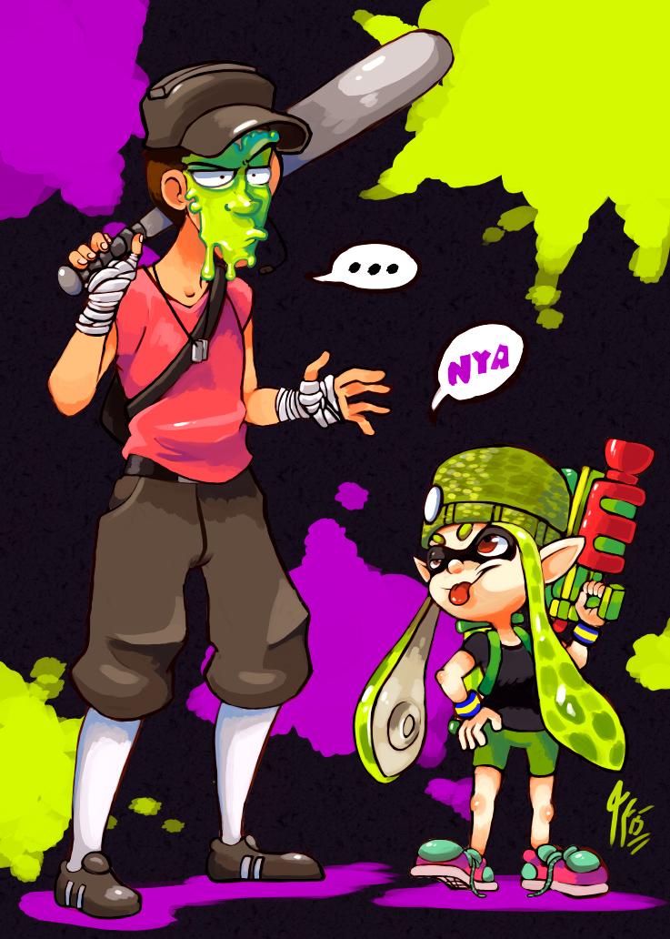 Team Splatoon By Tamarinfrog On Deviantart