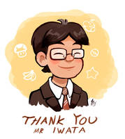 Thank You Mr Iwata by TamarinFrog