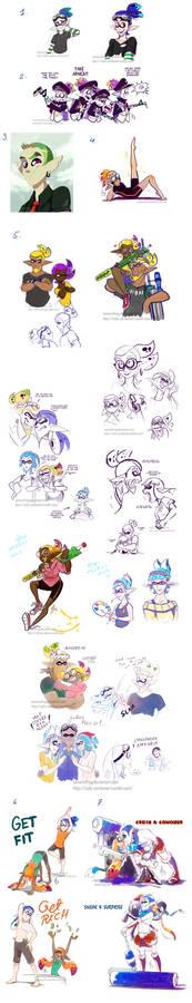 Splatoon Art Dump 10