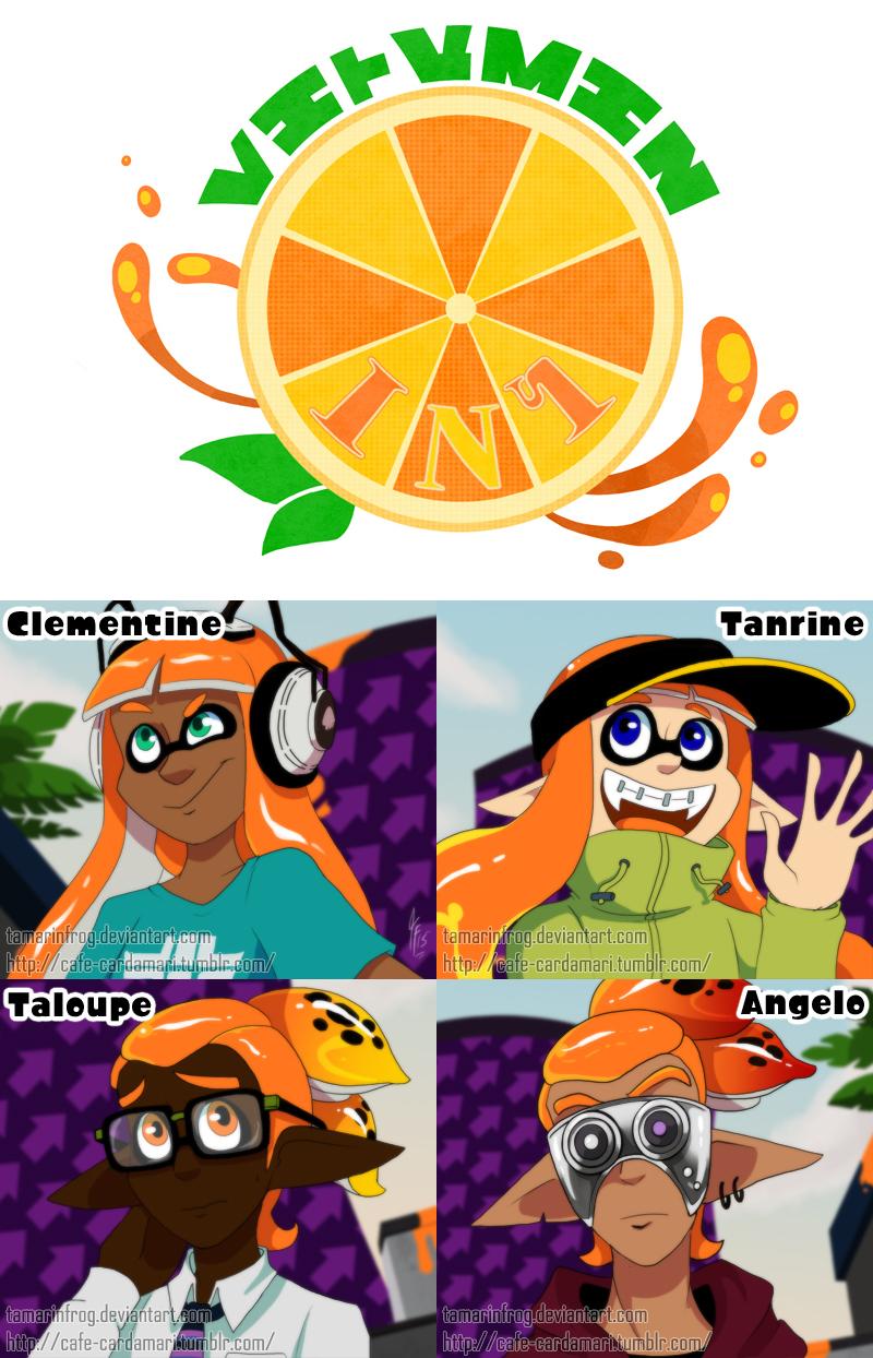 Team Vitamin Ink By Tamarinfrog On Deviantart
