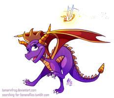 DD - Dragon and His Bug by TamarinFrog