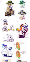 Splatoon Art Dump 11