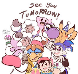 See You Tomorrow by TamarinFrog